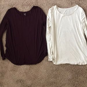 Set of 2 Gap Luxe tops